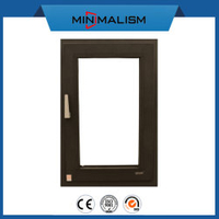 Aluminium Casement/Awning Window with Clear Glass and Accessories