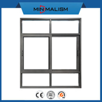 70 Series Aluminium Sliding Window with Certificate for House Estate