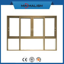 Building Material 126 Series Aluminium Sliding Window for Ventilation